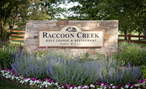 Raccoon Creek Sign